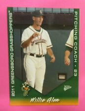2011 Multi-Ad Sports, Greensboro Grasshoppers, Pitching Coach - WILLIE GLEN