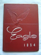 1954 TREADWELL HIGH SCHOOL YEARBOOK MEMPHIS, TENNESSEE  THE EAGLE