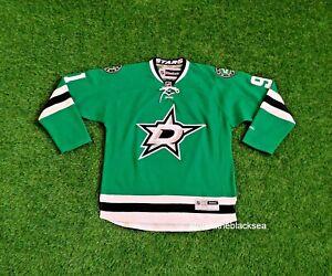 DALLAS STARS #91 SEGUIN ICE HOCKEY SHIRT JERSEY MAGLIA TRIKOT REEBOK NHL MEN L