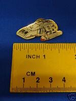 Star Trek Deep Space Nine Runabout Cut-Out Pin Badge DSN40