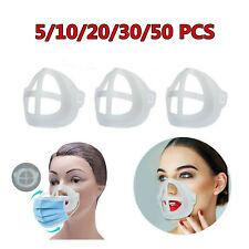 3D Face Mask Bracket Inner Support Frame Silicone Holder Prevent Makeup Removal