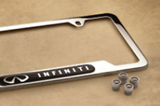 Genuine  License Plate Frame W/ Valve Stem Caps 999MBYX001