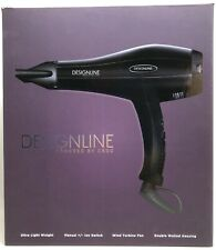DESIGNLINE Ion Technology Professional Hair Dryer - Powered by CROC (RF1081)