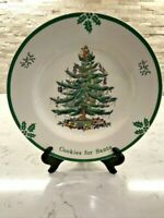SPODE CHRISTMAS TREE PLATE COOKIES FOR SANTA   GORGEOUS!!!