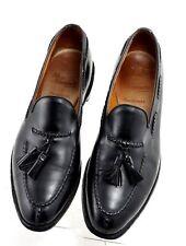 Allen Edmonds Pembrooke 10.5 A Black Tassel Loafers