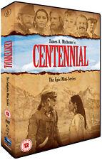 CENTENNIAL : The Epic Miniseries   - DVD - REGION 2 UK