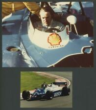 GERARD LARROUSSE and JEAN-PIERRE JARIER original photographs | Formula 1 Greats