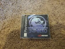 Mortal Combat Mythologies Sub-Zero (Playstation PS1) Complete Black Label Tested