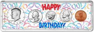 Happy Birthday Coin Gift Set, 1970