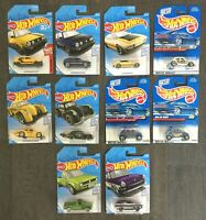 Hot Wheels VOLKSWAGEN Lot of 10! VW Bug Baja Bug Moon Eyes Golf Mk II +more!