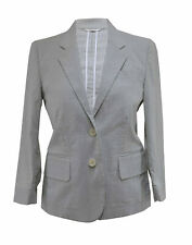 ** Helmut Lang ** Cotton Striped Fitted Jacket ** 40 **