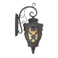 Allen roth outdoor lighting ebay allen roth grandura 18 58 in marcado black outdoor wall light lws1176b workwithnaturefo