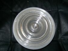 VINTAGE LIGHT FIXTURE GLASS DOME CEILING FROM THE LATE 40'S ANTIQUE LIGHT COVER