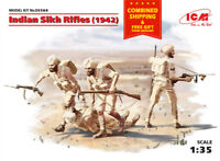 ICM 35564 - 1/35 Indian Sikh Rifles (1942) WWII 1939-1945 scale model kit