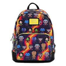 Guardians of The Galaxy Loungefly Faux Leather Mini Backpack S Mvbk0085