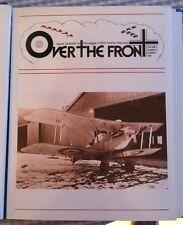 Over the Front Vol 2 #2 Richthofen WWI Ace Fokker Sopwith Jasta RFC Voss RAF