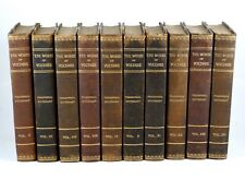 Works of Voltaire in 42 Volumes Ltd. Ed. 1901 Vols 5-14 Philosophical Dictionary
