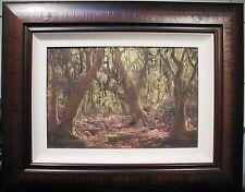 John Milenkovic original Australian oil titled 'Rainforest'