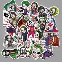 50 stücke Joker Anime Aufkleber Wasserdichte Clown Gepäck Laptop Motorrad Dekor