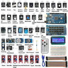 MEGA2560 R3 40 Sensor Modules Starter Kit  IIC 20*4 2004 LCD Display For Arduino