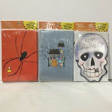 Designer Greetings 24 Halloween Cards New Sealed Free Shipping 3 Pks of 8 1