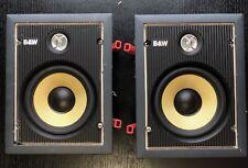 Bowers Wilkins (B&W) CWM 500 in Wall Speaker PAIR