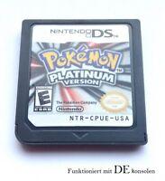 Pokemon Platinum Platin Spiel für Nintendo DS, DS Lite, DSi, DSi XL, 3DS