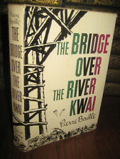 Bridge Over The River Kwai Pierre Boulle War Grosset Edition Military Classic