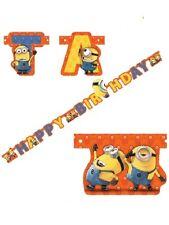 Banner Festone Compleanno  Minions, Accessori Festa Cattivissimo Me  *20284