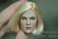 1/6 GC006 Female America Euro Blonde hair sexy girl head to Charlize Theron