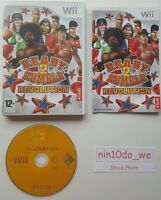 READY 2 RUMBLE REVOLUTION (Wii) & U-FAMILY FUN HILARIOUS BOXING GAME=NEAR MINT✔