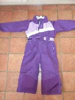Combinaison ski enfant 4 ans Décathlon Création Wed'ze prune violet parme