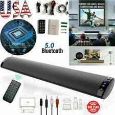 Wirel 00006000 ess Sound Bar Tv Soundbar Bluetooth Speaker Theater Stereo Subwoofer Gifts