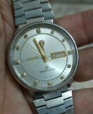VINTAGE RADO SILVER STAR AUTOMATIC WATCH SWISS MENS WATCH ETA 2836