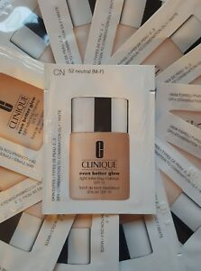 CLINIQUE - Even Better Glow™.Makeup SPF 15   foundation (52 neutral) 30ml total;