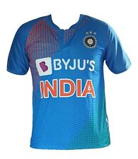 India Team T20 Jersey Cricket 2019 / 2020 Indian shirt ODI T20 World Cup BYJU'S