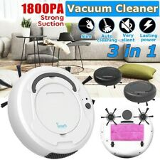 1800Pa Multifunctional Robot Vacuum Cleaner Auto Rechargeable Smart Sweeper Usa