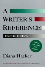 Writer's Reference (with 1999 MLA Update) Hacker, Diana Spiral-bound