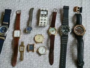 watches lot 1 incl maurice lacroix fortis certina etc