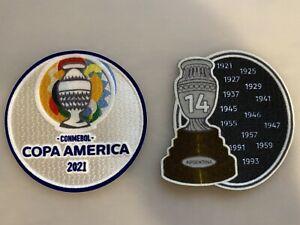 Copa America 2021 jersey patch set - Argentina