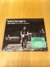 John Mayer Where The Light Is Live In Los Angeles CD Sealed