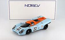 Porsche 917K #22 Gulf 24h LeMans 1970 Hobbs / Hailwood 1:18 Norev