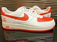 Nike Air Force 1 Low Melo PE Sample DS Mens size 15 White Orange Holy 226511989