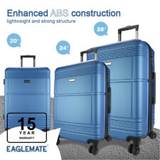 3pc Luggage Set Suitcase Travel Carry On Hard Case Soft Lightweight Luggage Set