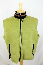 Womens Jagged Edge Outdoor Vest Fleece Hiking Trail Avocado Green sz Large