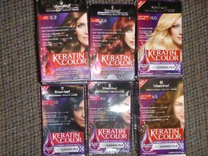 Schwarzkopf Keratin Color Intense Color - Permanent Hair Dye - Choose Color