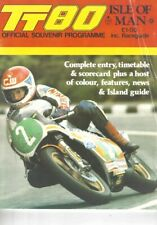1980 Isle of Man TT Souvenir Race Programme Graeme Crosby Dave Aldana Grant IOM