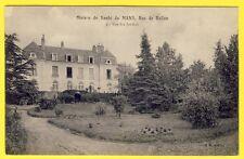 cpa 72 - LE MANS (Sarthe) MAISON de SANTÉ Rue de BALLON Vue des Jardins HÔPITAL