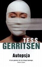 Autopsja, Tess Gerritsen, polish book