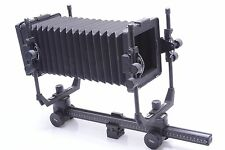 CAMBO 4X5 VIEW CAMERA. ROTATING GROUND GLASS, FRESNEL, TRIPOD CLAMP ETC.
